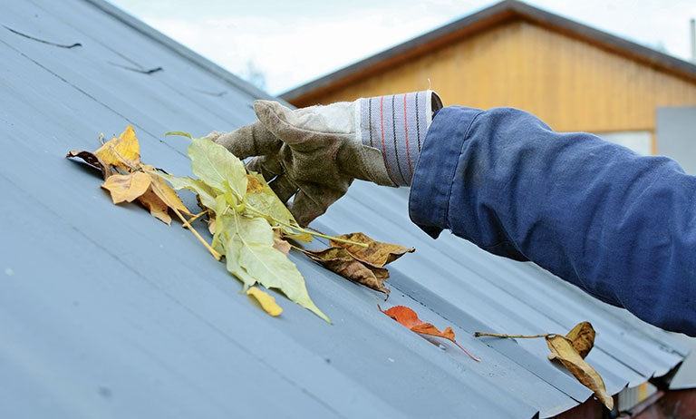 What maintenance does a metal roof need?