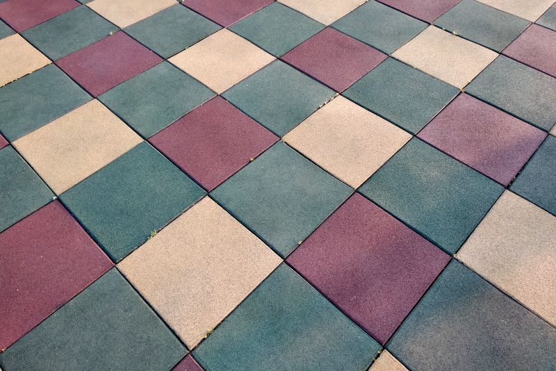 Recycled Rubber Tiles Are Very Much In Vogue