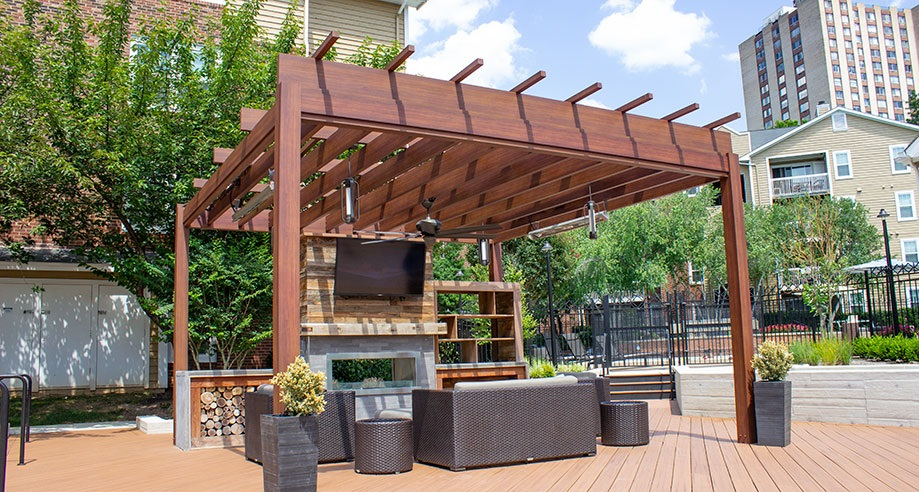What Are the Benefits of Building A Pergola with Timber Rather Than Steel?